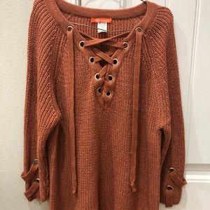 Cross Cross Sweater